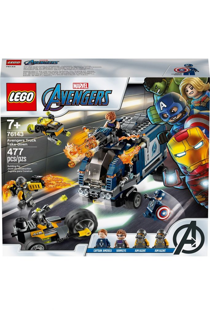 Buy LEGO® Super Heroes Marvel® Avengers Truck Takedown 76143 from the Next UK online shop