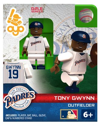 San Diego Padres Tony Gwynn Minifigure by Oyo Sports