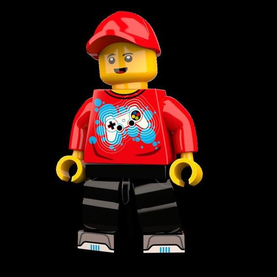 The Gamer Custom LEGO Minifigure LIMITED EDITION