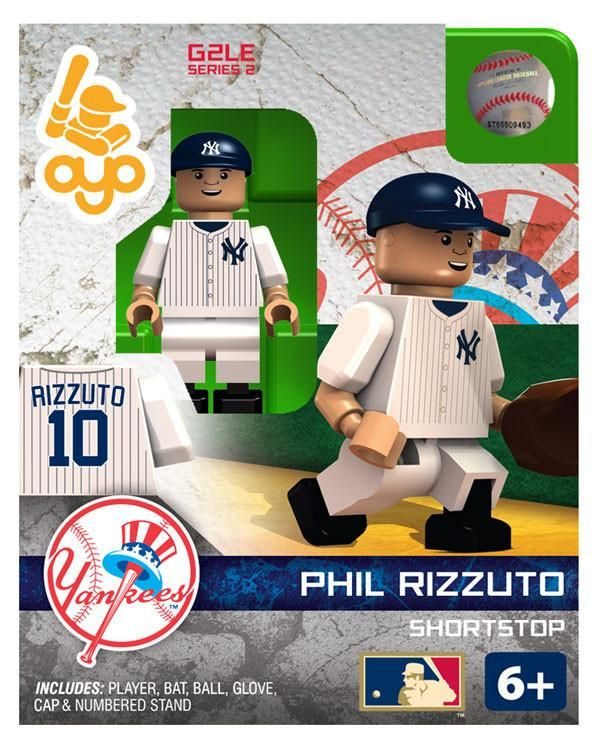 New York Yankees Phil Rizzuto Hall of Fame Limited Edition OYO Minifigure