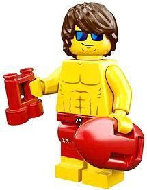 LEGO Minifigures Series 12 Lifeguard Minifigure [Loose]