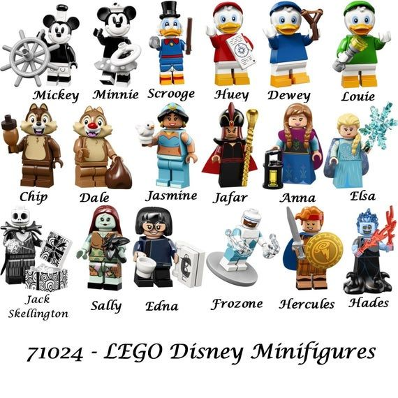 LEGO 71024 Disney Series 2 Minifigures – Limited Edition