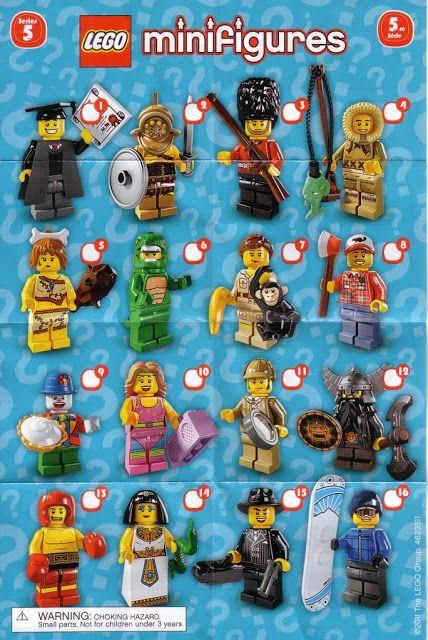 The Minifigure Collector: Lego Minifigure Series 1 -15, Lego Movie, Simpson, Dis…