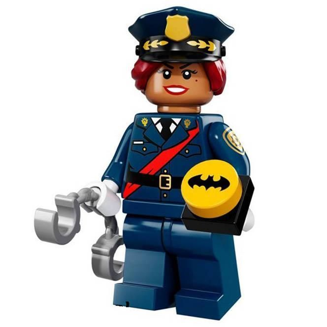 Minifig Officer Barbara