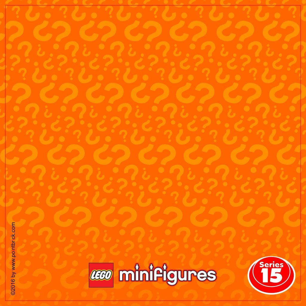 LEGO Minifigures Display Frame: Sfondi Serie 15
