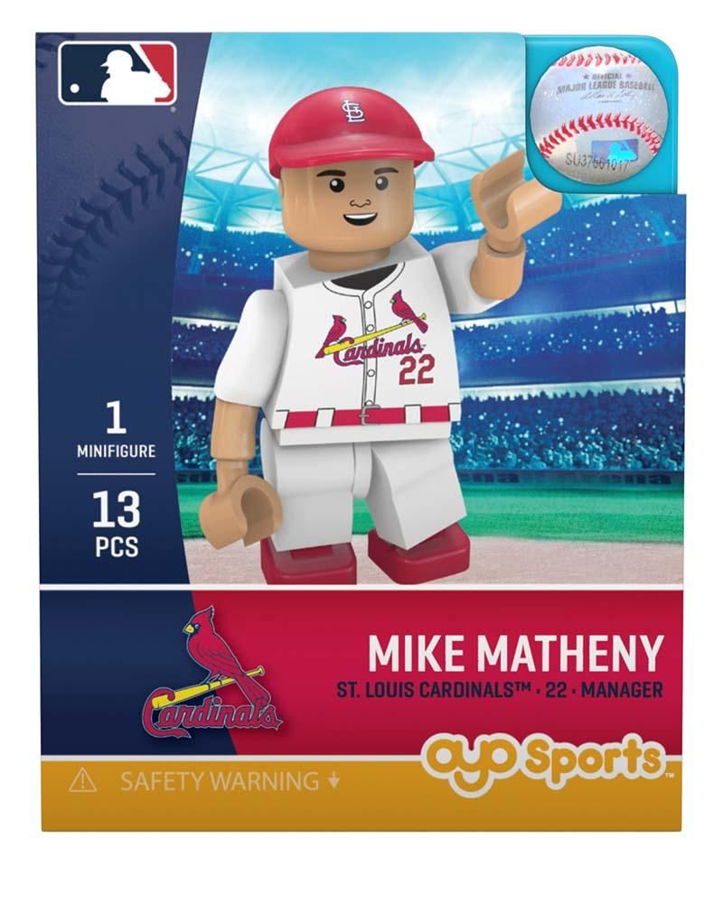St. Louis Cardinals MIKE MATHENY Manager Limited Edition OYO Minifigure