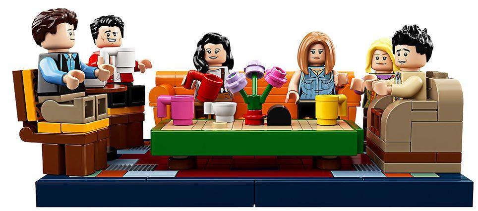 Lego Friends Central Perk Ideas 21319