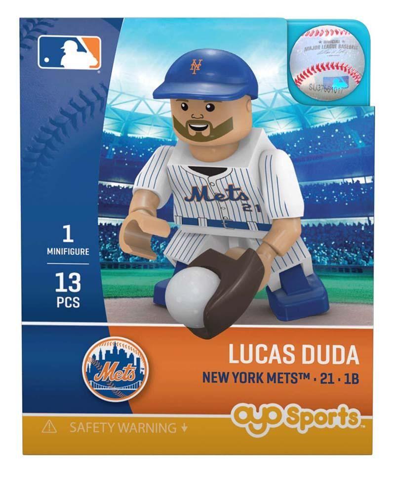 New York Mets LUCAS DUDA Limited Edition OYO Minifigure