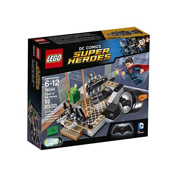 LEGO 76044 Super Heroes Batman v Superman Clash of the Heroes – Multi-Coloured