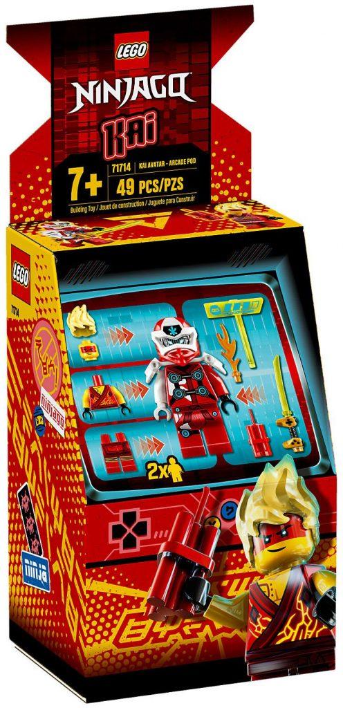 LEGO Ninjago 71714 : Avatar Kai – Capsule Arcade