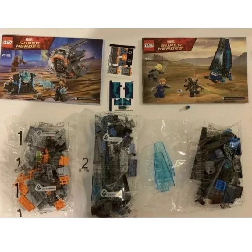 LEGO Marvel Super Heroes Avengers Infinity War Outrider Dropship Attack 76101.  …