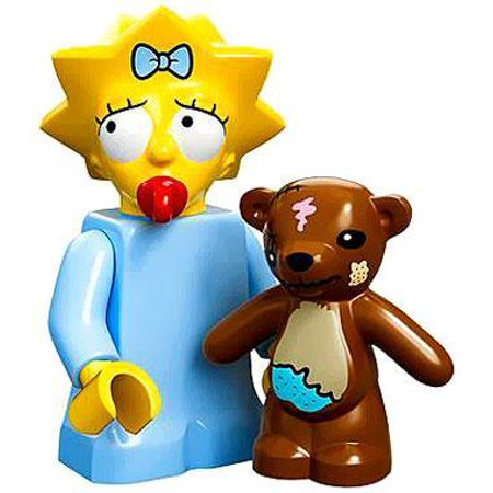 LEGO LEGO Simpsons Series 1 Maggie Simpson Minifigure [No Packaging] – Walmart.com