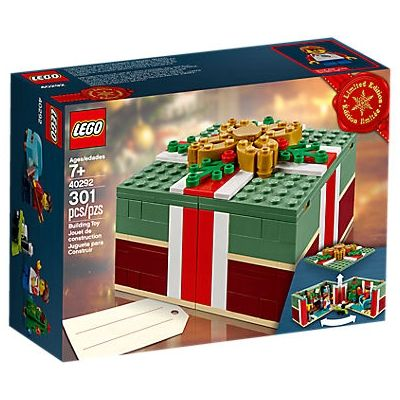 Lego 40292 Buildable Holiday Present VIP Exclusive 301 Pieces New with Box – Walmart.com
