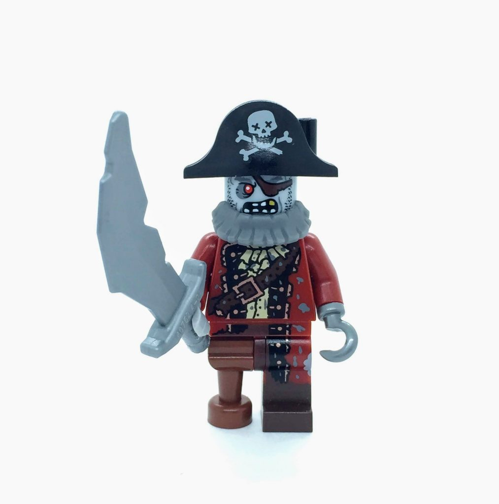 LEGO Zombie Pirate MINIFIGURE