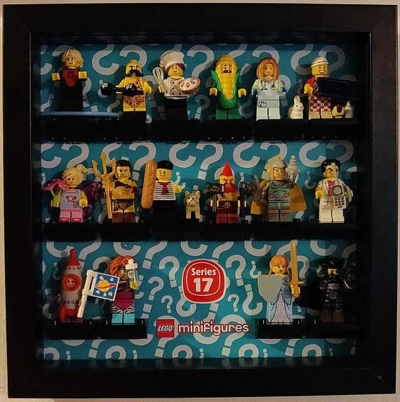 LEGO Minifigure Display Case / Frame – Series 17