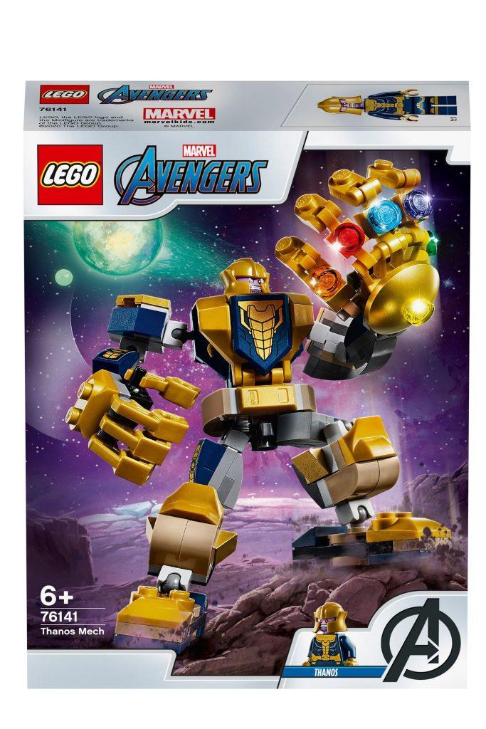 Buy LEGO® Super Heroes Marvel® Avengers Thanos Mech Set 76141 from the Next UK online shop