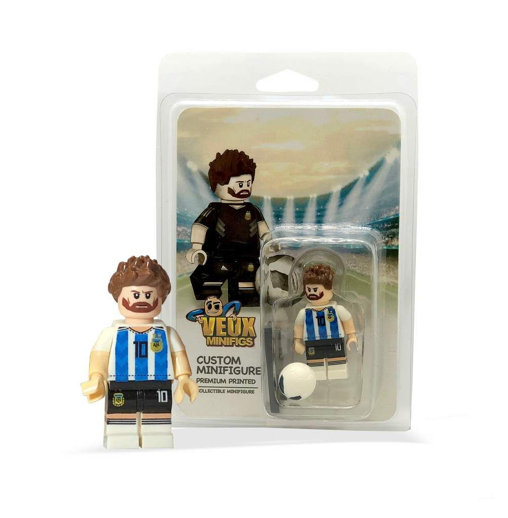FIFA World Cup Custom Collectible Minifigures Lionel Messi