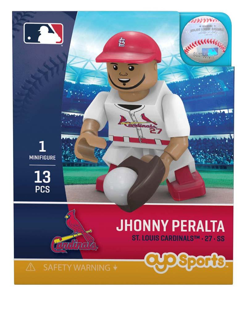 St. Louis Cardinals JHONNY PERALTA Limited Edition OYO Minifigure