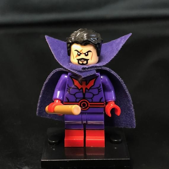 Black Tom Cassidy Minifigure |  Marvel Super Villain | Custom Minifigures