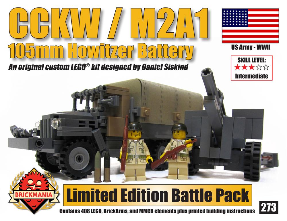 CCKW & M1A2 105mm Howitzer Battle Pack