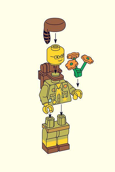 LEGO Wes Anderson – Matt Chase   Design, Illustration