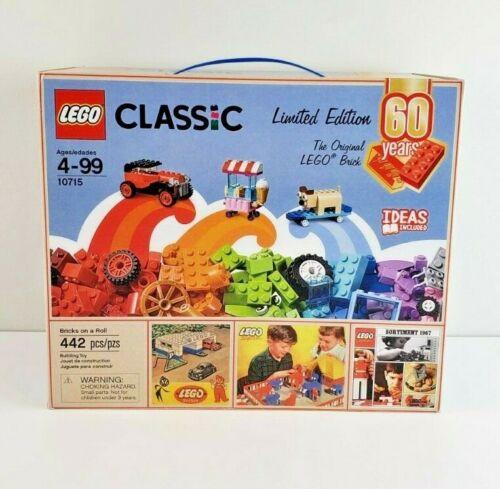 Lego Set 10715 60th Anniversary 442 Bricks New Sealed Bricks on A Roll Classic  | eBay