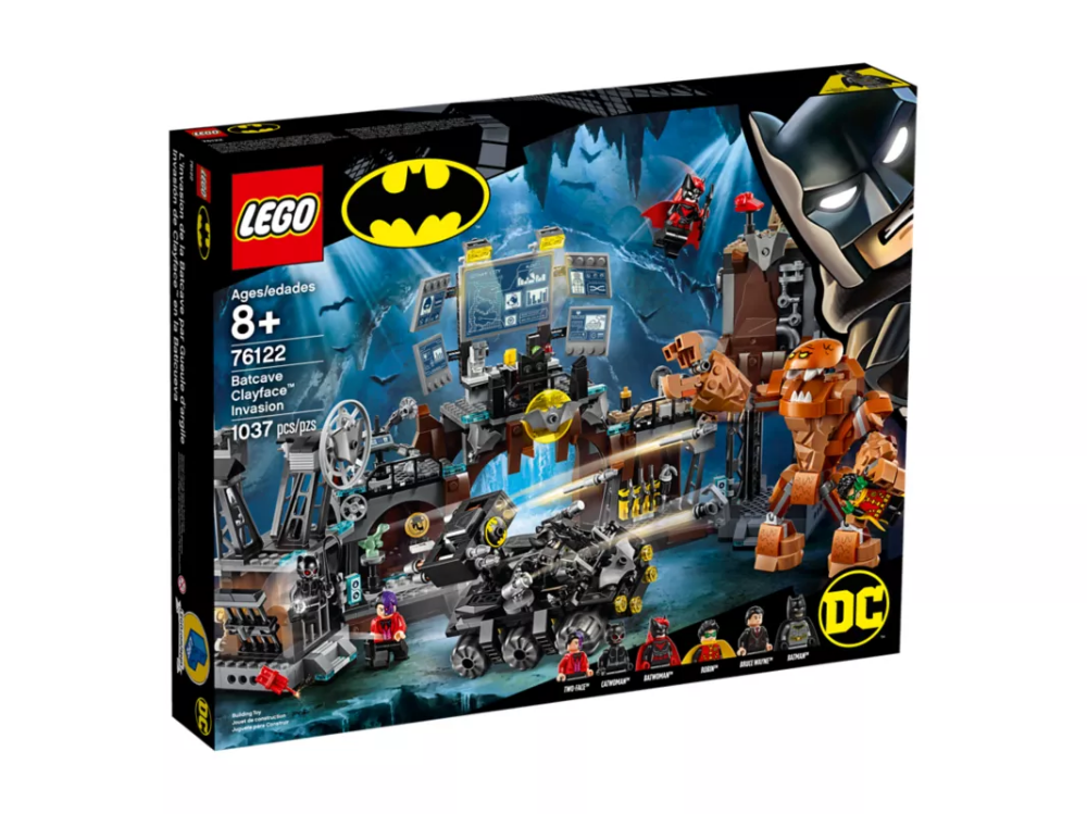 Batcave Clayface™ Invasion 76122 | DC Super Heroes | Buy online at the Official LEGO® Shop US
