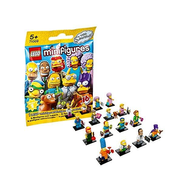 Simpsons Lego Lego Minifigures The Series 2 Foil Pack