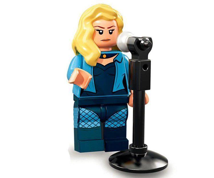 Black Canary Minifigures Superhero sets Lego Minifigures Compatible Toys