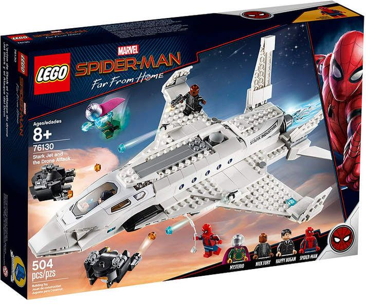 LEGO®  Stark Jet and the Drone Attack 76130 & Reviews – Home – Macy's