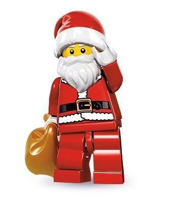 Buy Lego Series 8 Collectible Minifigure – Santa With Toy Sack Online at Low Prices in USA – ergode.com