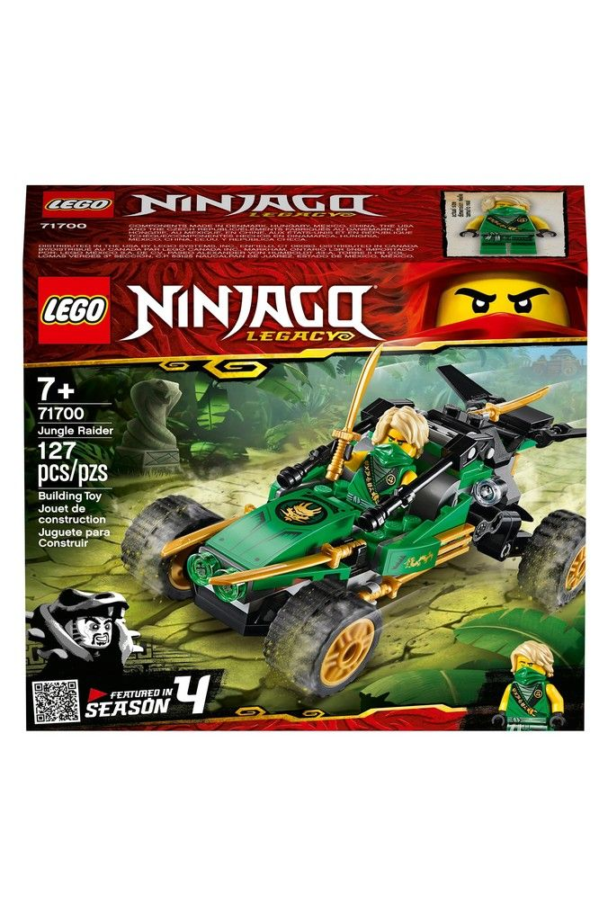 Buy LEGO® Ninjago Jungle Raider Building Set 71700 from the Next UK online shop