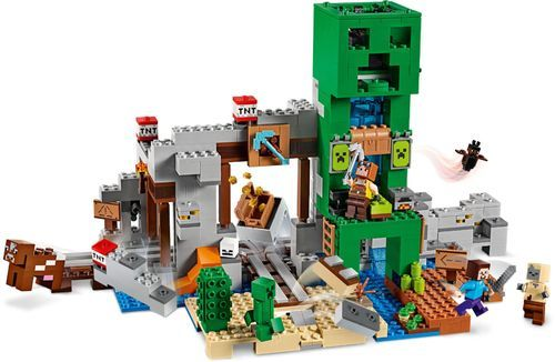 LEGO – Minecraft The Creeper Mine 21155