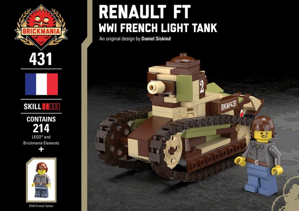 Renault FT – WWI French Light Tank