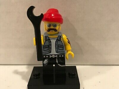 Ad – Lego MiniFigure Motorcycle Mechanic Collector Series 10 CMF Col10-16 Col160