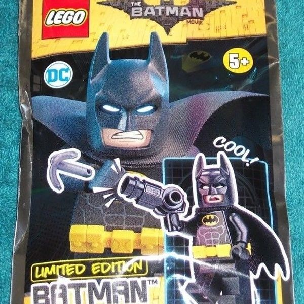 LEGO BATMAN MOVIE : Batman with Grappling Hook Polybag Set 211803   Limited Edition Minifigure LEGO ORIGINAL | Wish