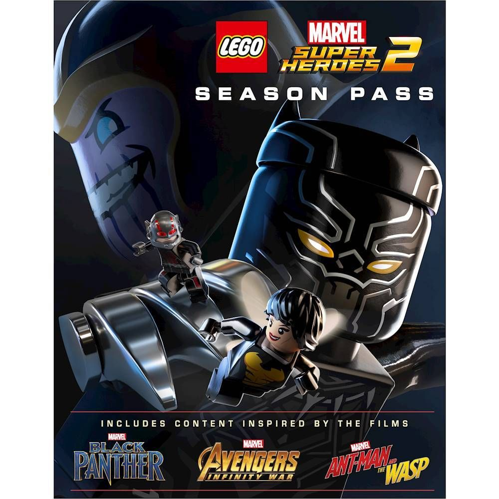 LEGO Marvel Super Heroes 2 Season Pass – PlayStation 4 [Digital]