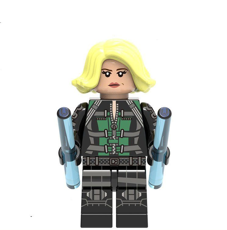 Black Widow minifigures Avengers Infinity War Building block Toy Compatible Lego Super Heroes