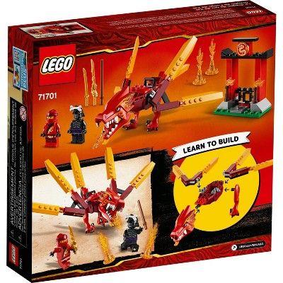 LEGO NINJAGO Legacy Kai's Fire Dragon 71701 Building Kit