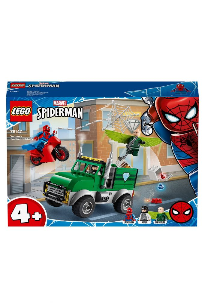 Buy LEGO® Super Heroes Marvel® Spider-Man™ Vulture's Trucker Robbery Set 76147 from the Next UK online shop