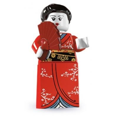 LEGO Minifigures – Kimono Girl | Minifigures Series 4 | Collectable LEGO Minifigures