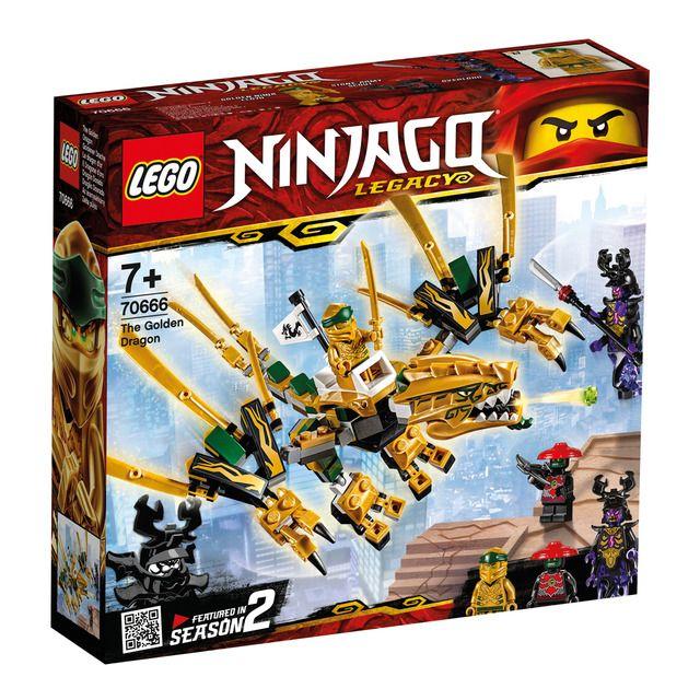 Dragón Dorado Lego Ninjago