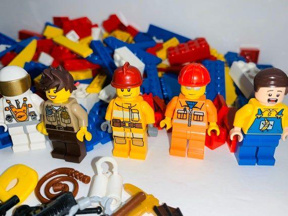 LEGO Minifigures + Accessories + Bulk – 1 Pound Lot Authentic LEGO Brand