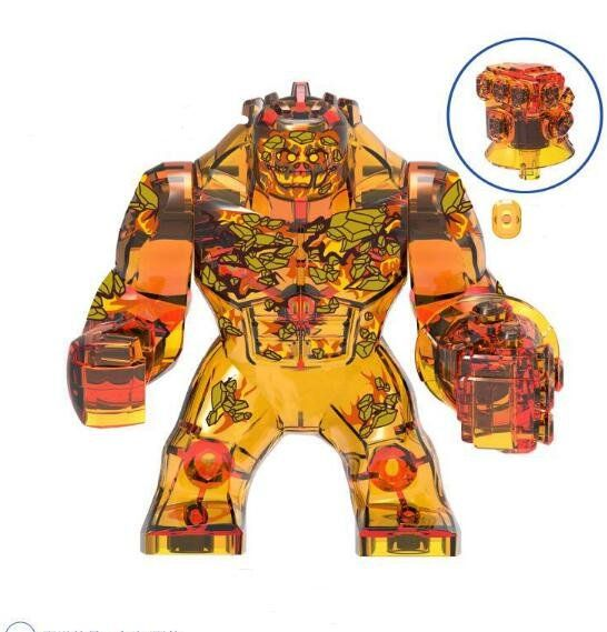 Fire Elemental Lego Minifigures Compatible Super Heroes Toy