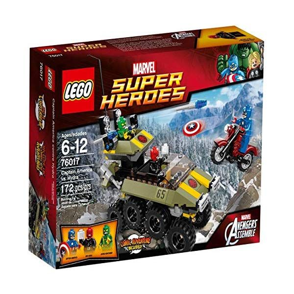 LEGO Super Heroes 76017: Captain America vs. Hydra