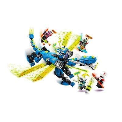 LEGO NINJAGO Jay's Cyber Dragon 71711 Ninja Building Set