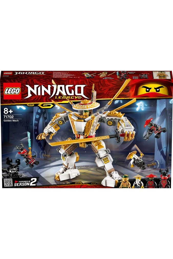 Buy LEGO® Ninjago Golden Mech 71702 from the Next UK online shop