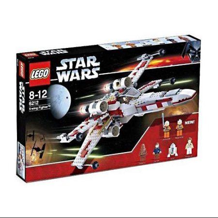 Star Wars A New Hope X-Wing Fighter Set LEGO 6212 – Walmart.com