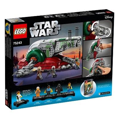 LEGO Star Wars Slave l – 20th Anniversary Collector Edition Collectible Model …