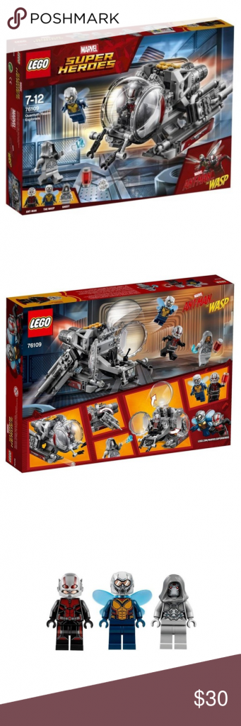 LEGO Marvel Ant-Man Quantum Realm Explorers 76109 Fly into action against Ghost …